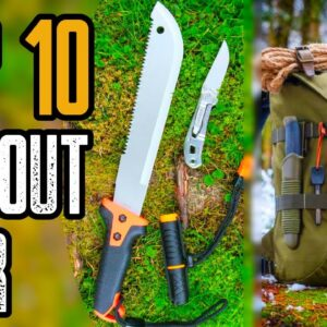 TOP 10 BEST BUG OUT BAG GEAR LIST 2020