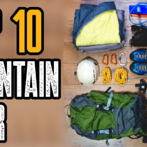 Top 10 Best Mountaineering Gear (Black Diamond Equipment)