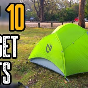 TOP 10 BUDGET ULTRALIGHT TENTS ON AMAZON