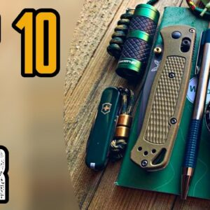 Top 10 New EDC Gear 2020 | Best Everyday Carry Gadgets