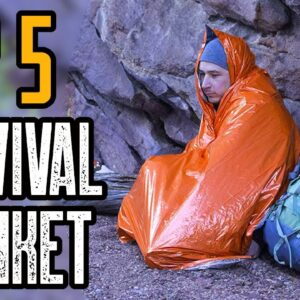 Top 5 Best Survival Blankets (Mylar Emergency Blankets)
