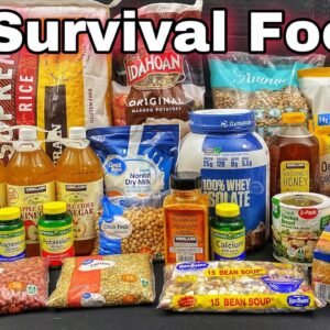 15 Survival Foods Every Prepper Should Stockpile