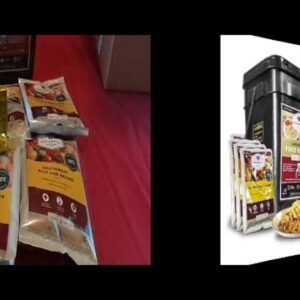 PRODUCT REVIEW - WISE 52 Serving Prepper Pack kit bucket survival food long term storage