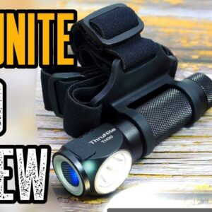 Most Powerful Headlamp! THRUNITE TH30 REVIEW