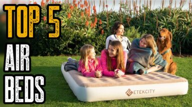 The 5 Best Camping Air Mattresses & Air Beds