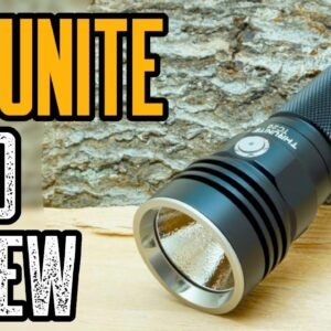 Thrunite TC20 3800 Lumen Flashlight Review