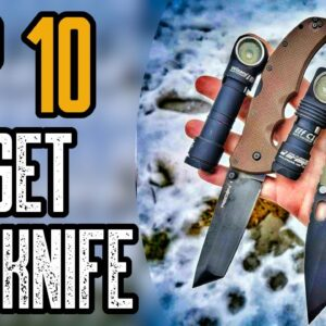 Top 10 Best Budget EDC Pocket Knives on Amazon
