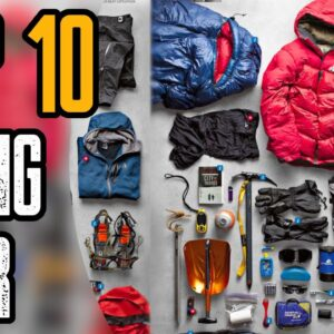 TOP 10 BEST HIKING GEAR FOR BEGINNERS
