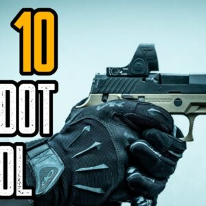 TOP 10 BEST RED DOT FOR PISTOL | Best Pistol Reflex Sight
