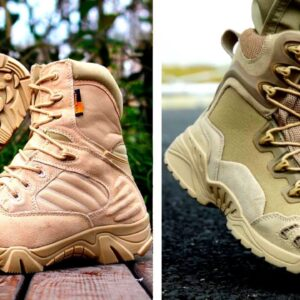 Top 10 Best Tactical Boots For Combat, Military & Hunting