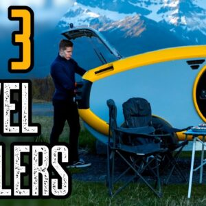 TOP 3 SMALL TRAVEL TRAILERS AND CAMPERS 2020