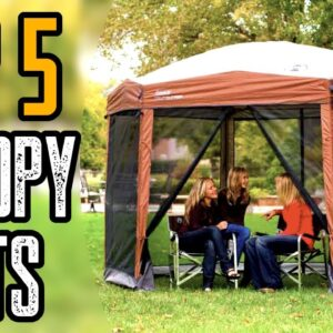 Top 5 Best Canopy Tent for Camping, Beach & Wind