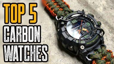 Top 5 Best Carbon Fiber Watches 2020