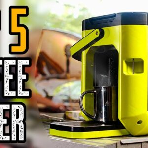 Top 5 Best Coffee Maker for Camping & Backpacking