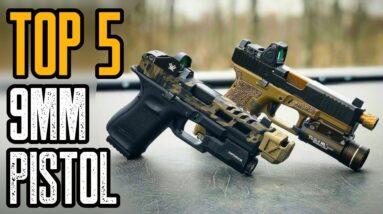 Top 5 Best Compact 9mm Pistol For Concealment