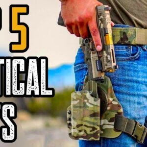 Top 5 Best Tactical Belts On Amazon