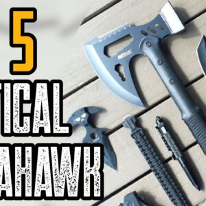 TOP 5 BEST TACTICAL TOMAHAWK AXE REVIEW