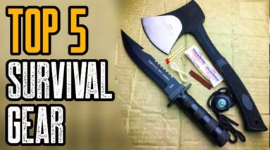 TOP 5 MUST HAVE SURVIVAL GEAR ON AMAZON