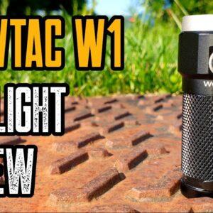 WowTac W1 Review - Best Budget EDC Flashlight!