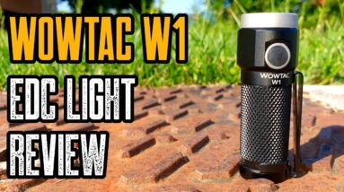 WowTac W1 Review - Best Budget EDC Flashlight!