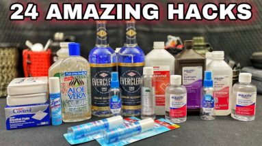 24 Easy Survival Hacks Everyone Should Know