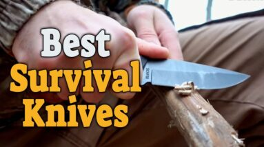 Best Survival Knives 2020 - Top 5 Best Survival Knife Picks