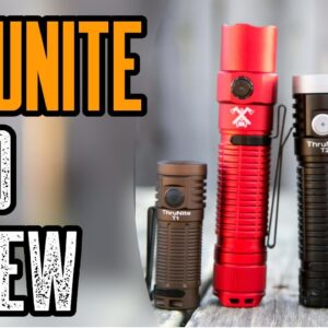 Best Tactical EDC Flashlight | Thrunite TT20 Review | USB-C
