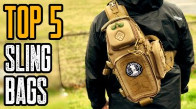 TOP 5 BEST TACTICAL SLING BAGS ON AMAZON