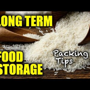 NEW! Long Term Food Storage: DIY Bulk Packaging Emergency / Survival  / Disaster / Bug Out Food Kit