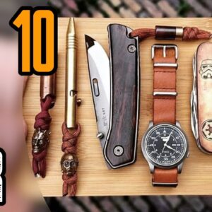 Top 10 Amazing EDC Gadgets That Are On Another Level