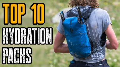 Top 10 Best Hydration Packs for MTB, Running & Hiking