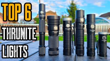 TOP 6 BEST THRUNITE FLASHLIGHTS 2021! Tactical & EDC Flashlights!