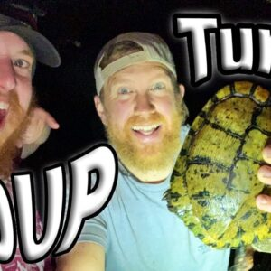 Catch and Cook Turtle Soup / Day 2 Of 30 Day Survival Challenge Texas