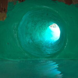 Build Secret Tunnel Underground House And Water Slide To Tunnel Swimming Pools