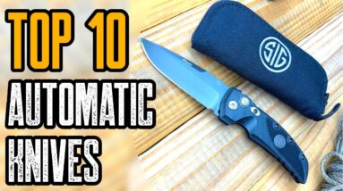 Top 10 Automatic Knives 2021 | Best Switchblades 2021