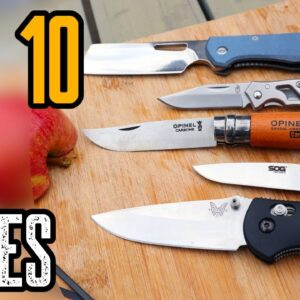 Top 10 Best EDC Knives 2021! Everyday Carry Knives 2021!