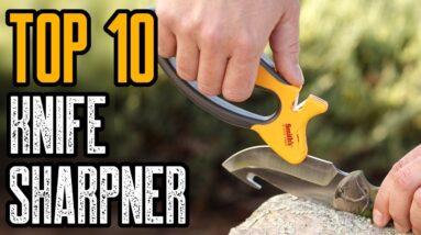 TOP 10 BEST KNIFE SHARPENER ON AMAZON 2021
