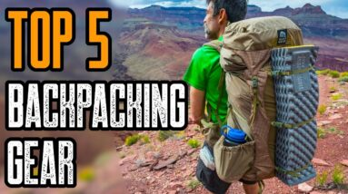 TOP 5 BEST BACKPACKING GEAR ON AMAZON 2021