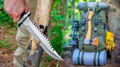 Top Best Bushcraft Gear To Own For Survival and Preparedness