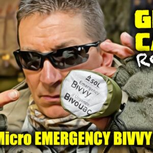 NEW! SOL Survival, Emergency, Bug Out Bivvy - REVIEW - Best Backup Camping, Adventure Shelter?