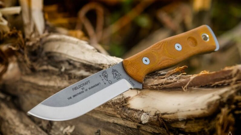 Top 5 Best Bushcraft Knives for Outdoor Survival & Wilderness