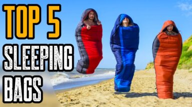 Top 5 Best Sleeping Bags on Amazon 2021