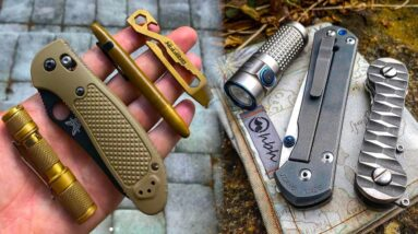 TOP 10 Amazing EDC Gadgets EVERY Man Should Own!