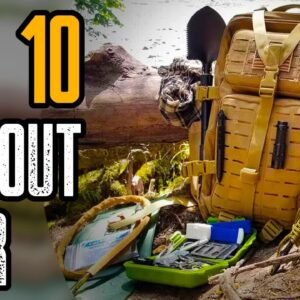 TOP 10 BEST BUG OUT BAG LONG TERM SURVIVAL GEAR