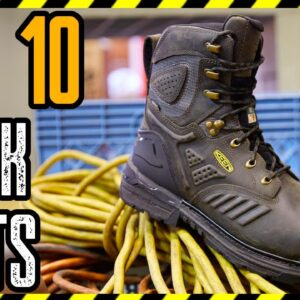 TOP 10 BEST WORK BOOTS FOR MEN 2021