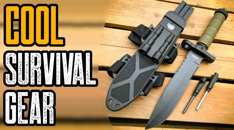 TOP 10 COOL SURVIVAL GEAR & GADGETS YOU MUST HAVE
