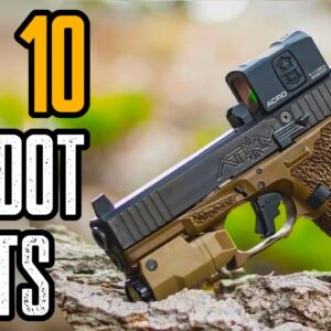 TOP 10 HANDGUN RED DOT SIGHTS 2021| Best Pistol Reflex Sights 2021!