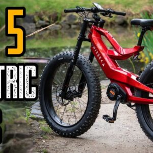 TOP 5 NEW ELECTRIC BIKES 2021 | BEST E-BIKES 2021