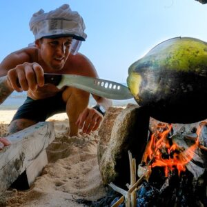 COOKING FISH IN A COCONUT??? AN EPIC CATCH AND COOK. EP 57