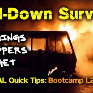 NEW! How to Survive Safely at Home During a Grid-Down Crisis / Survival Quick Tips: Bootcamp L2